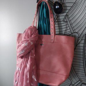 Roxy | Lantana Pink Just Love Tote and Scarf
